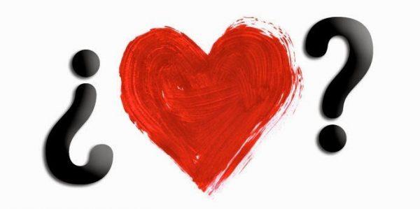 corazón con signos